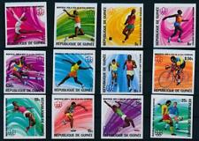 [G356510] Guinea 1976 Olympics good set of stamps Imperf very fine MNH