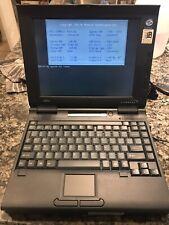 Vintage Fujitsu Lifebook 420D Laptop Extended RAM Windows 95 Rare Works