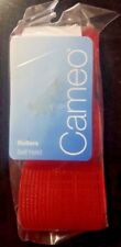 Cameo Self Hold Red Hair Rollers - Jumbo Size - 3 Pack