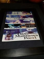 Dave Matthews Band Ants Marching Rare Radio Promo Poster Ad Framed!