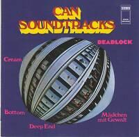 CAN - SOUNDTRACKS CD Jewel Case+GIFT REMASTERED Experimental Krautrock Karoli