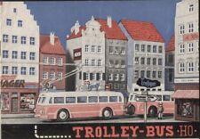 catalogo EHEIM HO Brochure 1955 Trolleybus & Seil-Schwebebahn         D       aa
