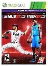 MLB 2K13 / NBA 2K13 Combo Pack  --  Microsoft Xbox 360 Game w/ Case *Guaranteed*