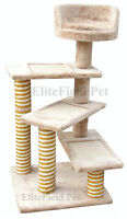 EliteField Cat Tree Furniture Condo House Scratcher Bed Toy Post EFCT-4040