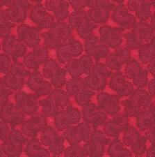 Quilt Fabric: 100% Cotton, Smooth Swirl, red, Sg-15, Tonal blender By The Yard