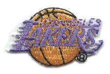 "1976-2000 ERA LOS ANGELES LAKERS NBA BASKETBALL SMALL 1.25"" TEAM LOGO PATCH"