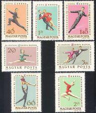 Hungría 1963 patinaje/Ice Bailar/Deportes/juegos/Banderas 7 V Set (n40315)