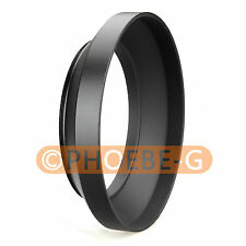 72mm metal wide angle screw in mount lens hood for Canon Nikon Pentax Sony