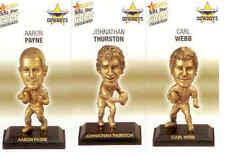 2008 Select NRL Gold Figurine CARDS team Set Cowboys (3)
