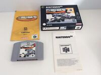 Nintendo 64  N64 F1 World Grand Prix