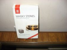Teroforma Whiskey Stones Set Of 9 Soapstone Beverage Whisky Stones Cubes New
