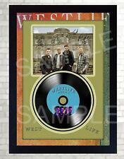NEW! Westlife Spectrum MUSIC  SIGNED FRAMED PHOTO LP Vinyl photo poster