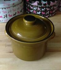 Unboxed Earthenware Brown Cornishware & T. G. Green Pottery