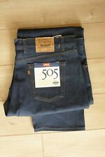 VTG NOS Levi?s 505 jeans 46x32 made in USA New Vintage  Deadstock