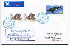 MS Columbus Hapag Lloyd Kreuzfahrten Punta Arenas Chile Polar Antarctic Cover