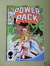 POWER PACK -  MARVEL COMIC - VOL 1  #25 - AUG 1986