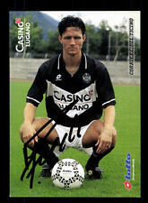 Marc Fiechter Autogrammkarte Casino Lugano 1996-97 Original Signiert +A 148592