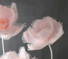 Giant Artificial Paper and Chiffon Flower/Wedding Backdrop DIY/UK seller