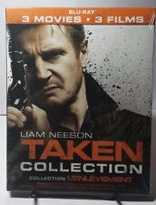 Taken 3-Movie Collection(Blu-ray Boxset)NEW - Free S&H -Liam Neeson-All 3 Movies