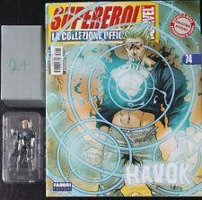 Supereroi Classic Marvel Collezione Ufficiale Fabbri Eaglemoss Havok 74 ITA