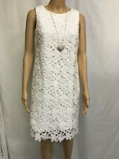 TARGET SIZE 6 WHITE LACE OCCASION DRESS