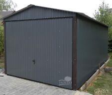 2,55 x 4,80 Mehrzweck Schuppen Blechgarage Garage Fertiggarage Metallgarage