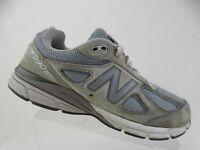 NEW BALANCE 990v4 Grey Sz 7 M Kids Running Shoes