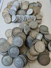More details for pre 1947 british .500 silver coins 50g-1kg choose amount bullion investment old