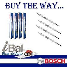 BOSCH 4 CANDELETTE FIAT PUNTO 199 1.3D MJT 52 55 62 70KW 2012 -> - 0250403014