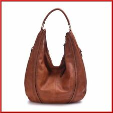 Large Hobo Handbags Leather Women'S Bag Piel Coach Vintage Slouchy Purse Shoulde