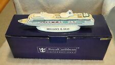 """NEW RCC Ship """"BRILLIANCE OF THE SEAS"""" MODEL 1:1250 Scale 10"""" WITH BOX"""