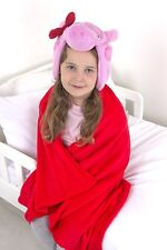 Peppa Pig 'Bow' One Size Cuddle Robe Brand New Gift