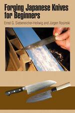 Forging Japanese Knives for Beginners / swords / bladesmithing / sword making