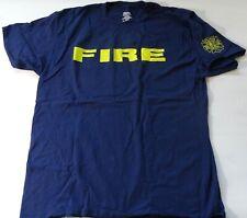 eVintage Honolulu Fire Departmewnt Hawaii XL Blue T-Shirt