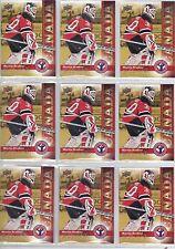 Lot of 100 *** 09-10 Upper Deck UD Martin Brodeur NHCD #8 Card Mint