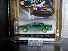 Greenlight Smokey & the Bandit Trans Am Super Green Machine 1/64 Diecast 1/48pc