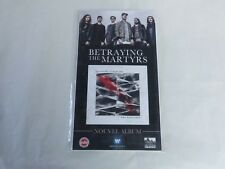 BETRAYING THE MARTYRS - THE RESILIENT !PLV / DISPLAY 14 X 25 CM