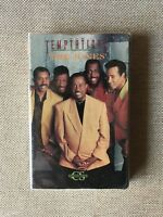 "The Temptations ""The Jones' / Get Ready"" (1991) Rare Cassette Single - SEALED"