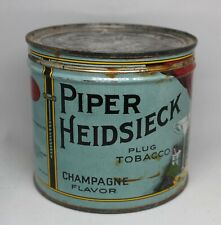 Piper Heidsieck Chiller Candleholder= Lightbox Tin New