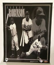 Jackie Robinson Brooklyn Dodgers 16x20 40th Anniversary Poster