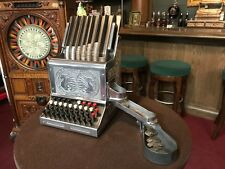 "1930's Cash Register Coin Changer BANDT Junior Automatic ""Watch Video"""