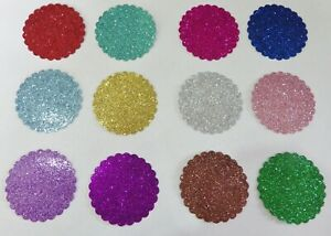 300 x 200mm Self Adhesive Glitter Sparkle Vinyl Signs Decals Card Making Crafts