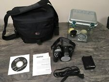 PENTAX K-5 Body With Bag And Storage Bin, Only A Few Thousand Clicks