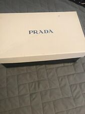 Prada Milano Men's Shoe Box empty BOX ONLY