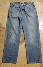 Levis 550 36x32 Light Wash Relaxed Fit Red Tab Blue Jeans Blue Pants
