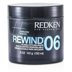 NEW Redken Styling Rewind 06 Pliable Styling Paste 150ml Mens Hair Care