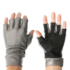 Half-finger UV Protection Outdoor Sports Fishing Gloves Lycra Sun Gloves 1 Pair