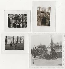 17/1005 FOTO MOTORRAD AUTO OLDTIMER MOTORRADKLEIDUNG UNBEKANNTE TECHNIK 1938
