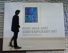 Christie`s POST-WAR ART MARKET REVIEW 2011 MURAKAMI BASQUIAT GOBER WARHOL GUSTON