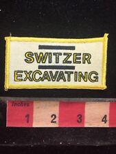 Vtg SWITZER EXCAVATING Advertising / Company Patch 709